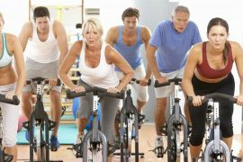Gulf Coast Fitness Cape Coral gym has a full schedule of spin classes.