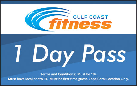 GULF COAST FITNESS - 1 Day Pass